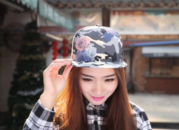 New-Fashion-Women-Camo-Camouflage-Snapback-Baseball-Cap-Female-Summer-Ladies-Snap-Back-Sports-Fitted-Hats